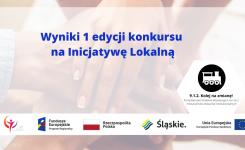 Inicjatywa lokalna: Wyniki I edycji konkursu