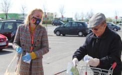 Żorski Patrol Obywatelski  – Wolontariat wspiera akcję #NoszęMaskę
