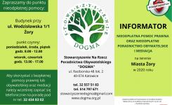 Bezpłatna pomoc prawna – Stowarzyszenie Dogma